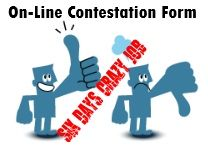On-Line Contestation Form